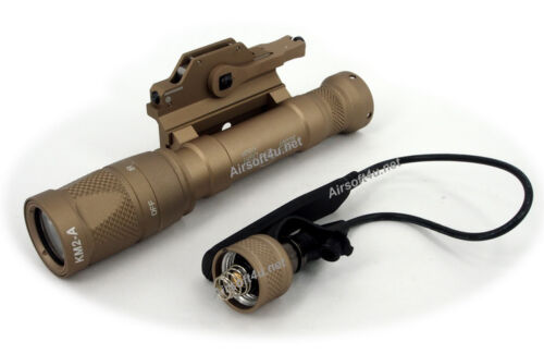 New SF M620V Tan Lumen LED With QD Mount Scout Weapon Light System 180