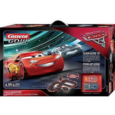 Disney Pixar Cars 3 Carrera Go Pole Position Slot Car Race Track 2 Cars Ebay