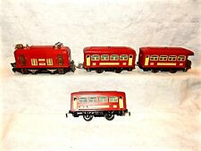 Refinished Pre-War Lionel #292 passenger train-#248 loco with 629,629 & 630 cars
