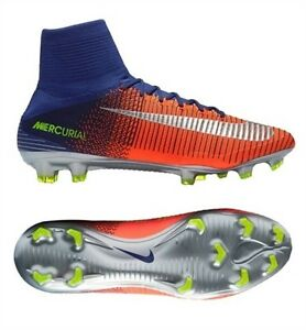 brand new 06f7c 2d3f0 La foto se está cargando Nike-Mercurial-Superfly-V-Fg-Botines-Royal-Azul-