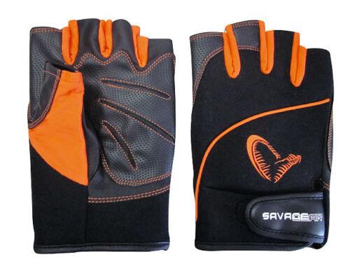 SAVAGE GEAR Protec Gloves Pro Tec Neopren Handschuhe Größe wählbar