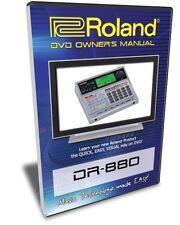 Roland (Boss) DR-880 DVD Video Training Tutorial Help