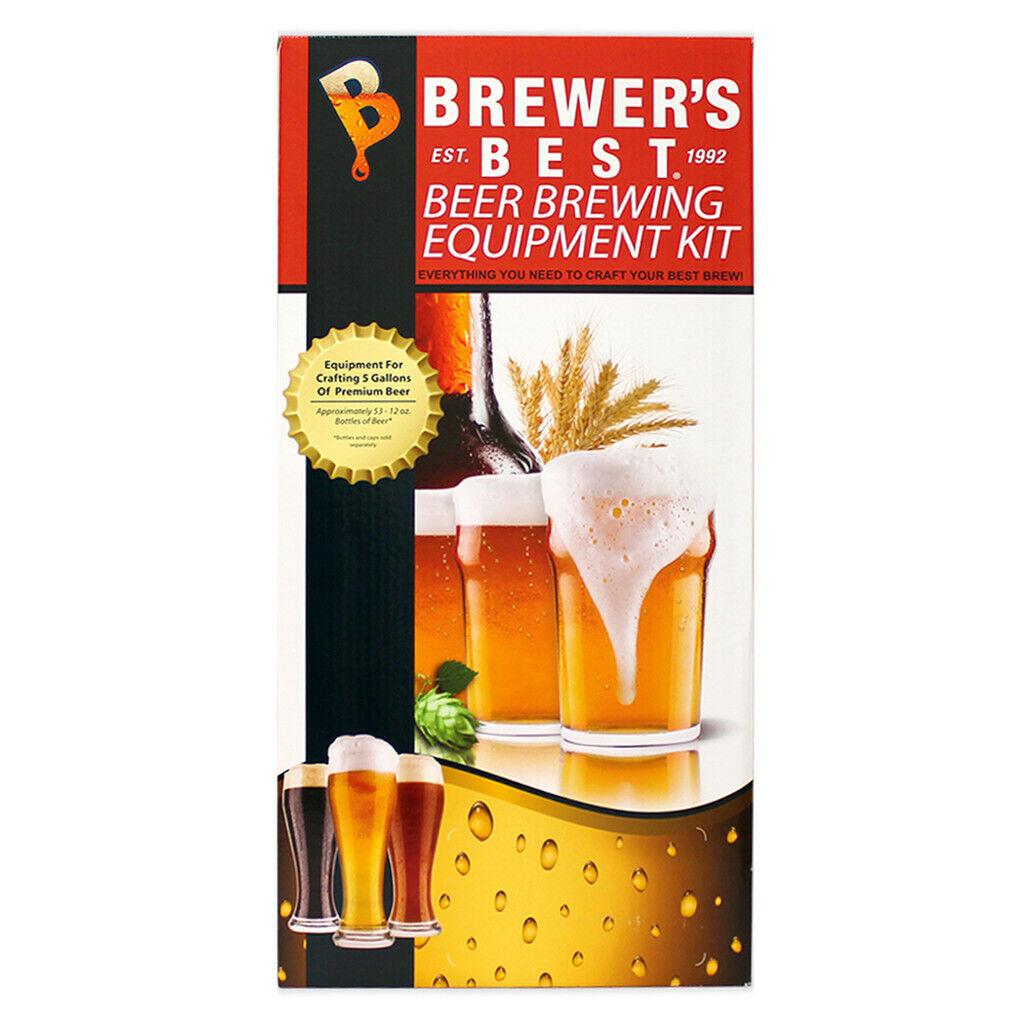 Brewer's Best Deluxe Beer Making Equipment Kit