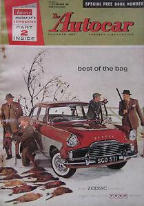Autocar-11-11-1960-featuring-Vanden-Plas-Princess-Turin-Motor-Show-3-Wheelers