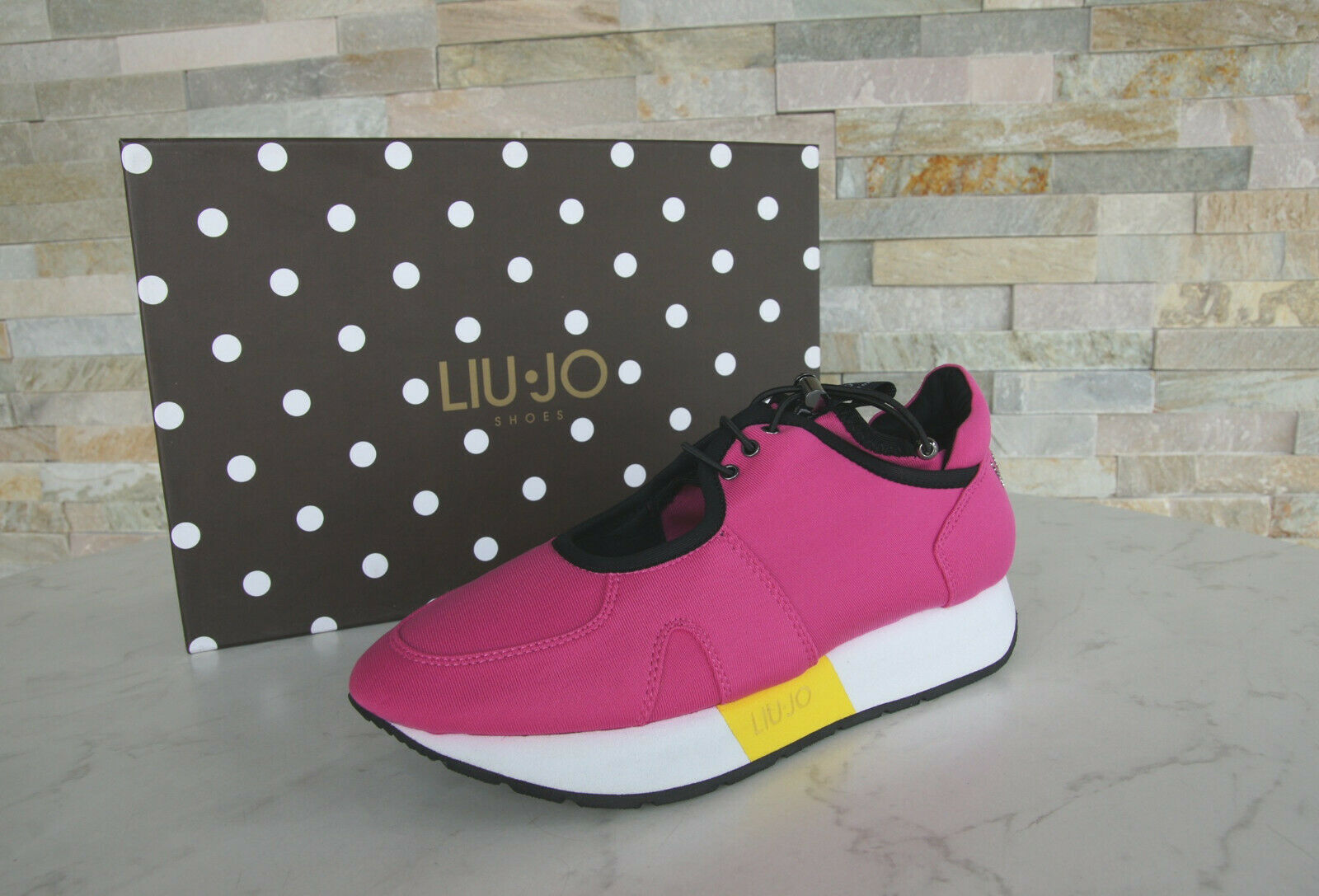 Liu Jo Size 35 Sneakers Low shoes Slip on shoes May Fuxia Pink New Previously