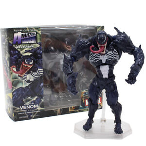 Revoltech-Series-Venom-PVC-Action-Figure-Collectible-Model-Toy