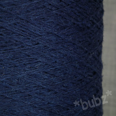 JAMIESONS PURE SHETLAND WOOL YARN 500g CONE 10 BALL 3 PLY HAND MACHINE KNIT BLUE