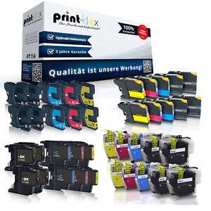 10x XL Patronen für Brother LC 12E 22E 123 LC223 970 980 985 1000-1240 3213 3219