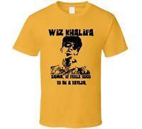 Wiz Khalifa Good To Be A Taylor Rap Hip Hop Pittsburgh T Shirt