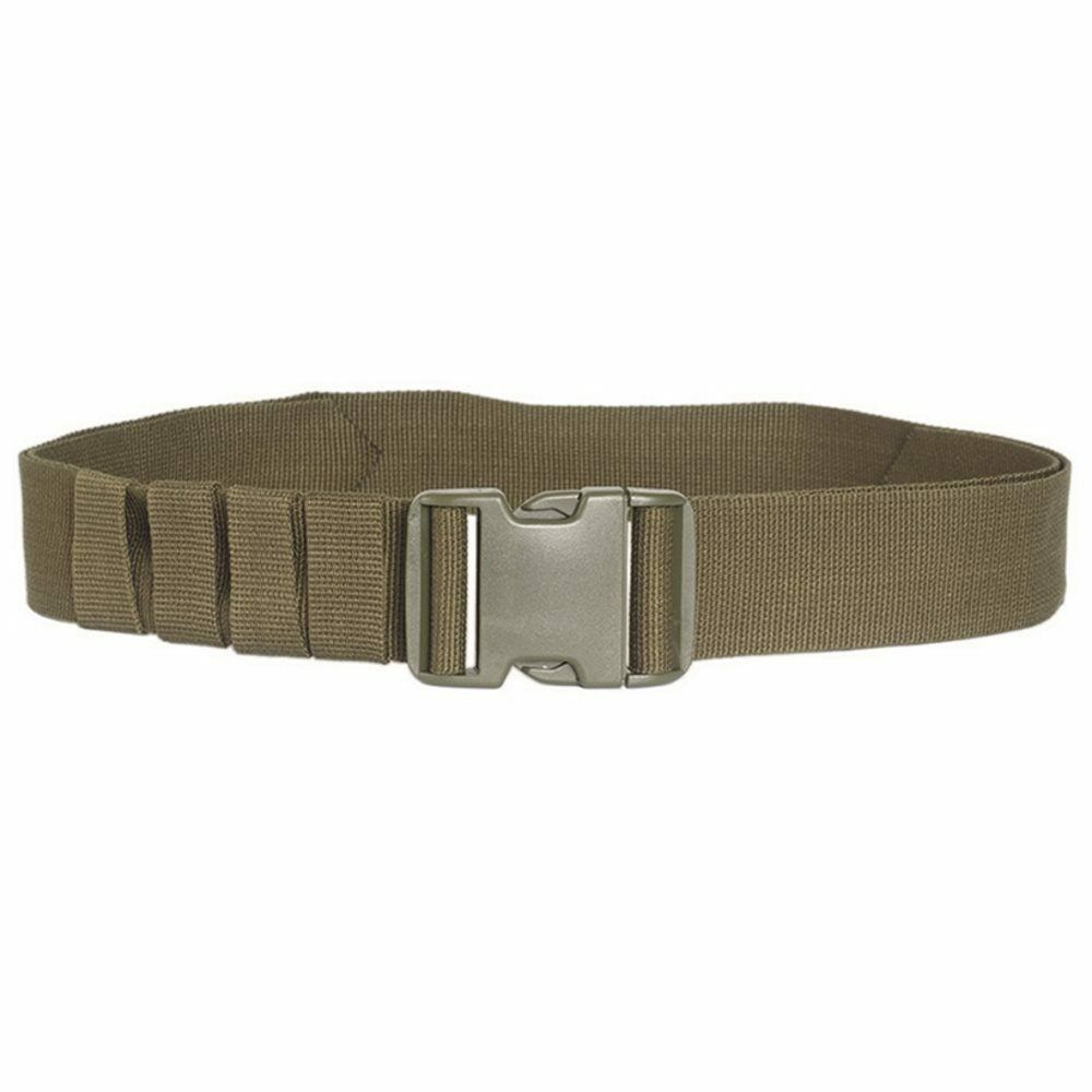 Mil Tec Hunting Hiking Military Army Mens Belt 50mm Quick Release Buckle Olive