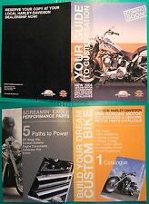 b# HARLEY DAVIDSON DEPLIANT YOUR GUIDE TO CUSTOMISATION NEW 2004 ACCESSORIES