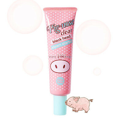 [HOLIKA HOLIKA] Pig-nose Clear Black Head Steam Starter 30ml / Korean Cosmetics