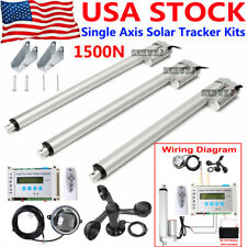 Solar Tracking Single Axis Lcd Solar Tracker Linear Actuator Anemometer Kits At