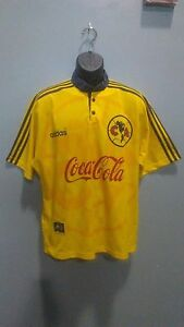 wholesale dealer 04894 157f0 Details about Club America Aguilas Adidas jersey retro LARGE 1997-1998