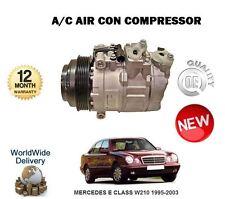 FOR MERCEDES E CLASS W210 1995-2003 NEW AC AIR CON CONDITIONING COMPRESSOR
