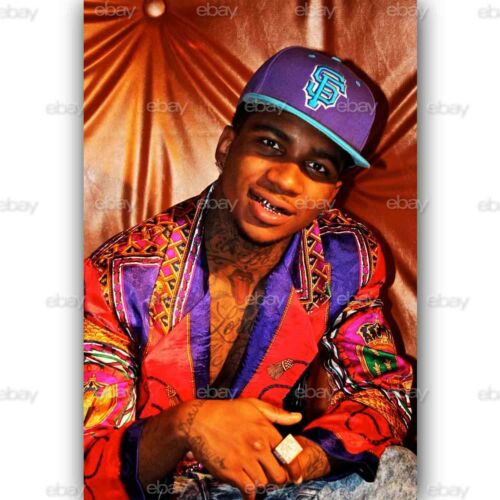 Custom Lil B Silk Poster Wall Decor