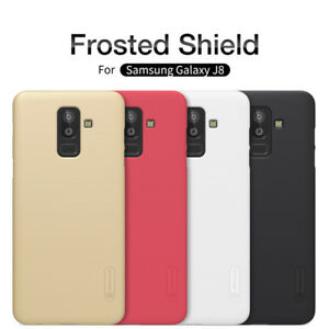 Samsung-Galaxy-J8-Nillkin-Super-Frosted-Shield-Antichoc-Coque-arriere
