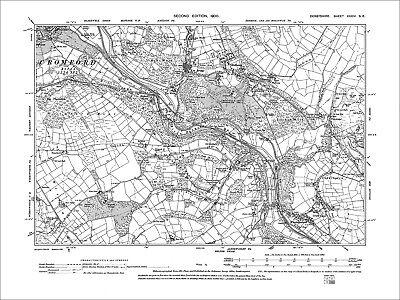 OLD ORDNANCE SURVEY MAPS DERBY DERWENT EREWASH  /& PLAN  WHATSTANDWELL 1895 S125