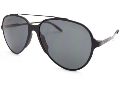 CARRERA 118//S Pilot Sunglasses Matte Black with Dark Grey CAT.3 Lenses GTN P9