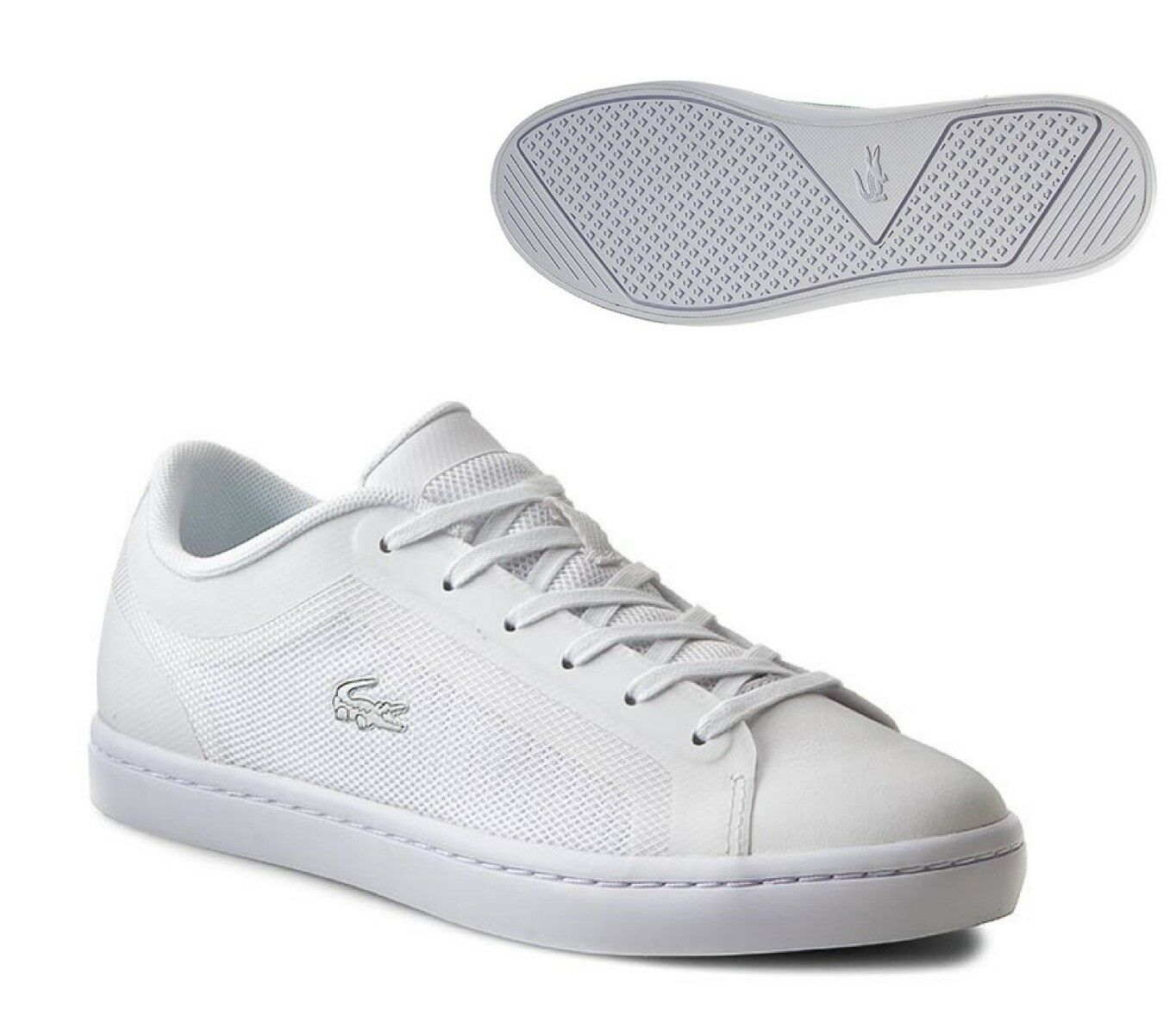 LACOSTE STRAIGHTSET 116 4 WHITE WOMENS TRAINER SHOE SIZE SIZE SIZE 3   - NEW 8d3f96