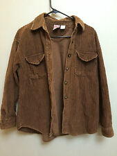 Red Camel own button up woman's ladies brown 100% cotton jacket coat winter