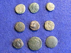 Fantastic-RARE-Lot-of-9-Greek-coins-of-Macedonia-Thrace