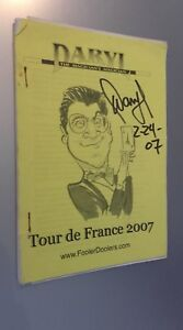Fascículo Daryl Guante The MAGICIAN'S Tour de France 2007 + Documento ABE