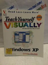 Teach Yourself VISUALLY Read Less - Learn More Windows XP Paperback Book USED
