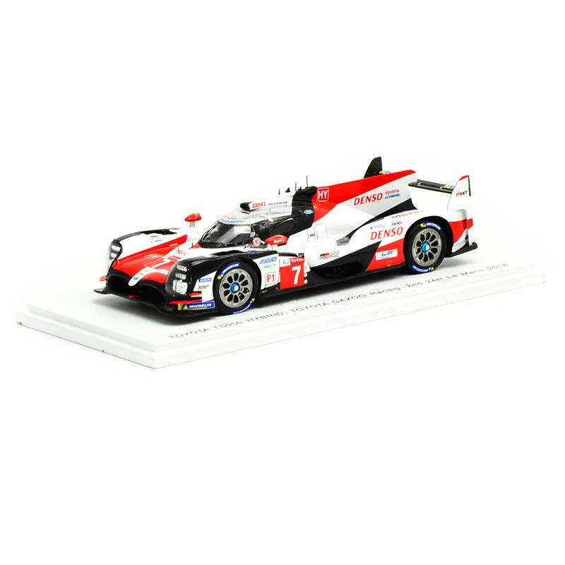 S7006 Spark 1 43 TOYOTA TS050 Hybrid  7 TOYOTA Gazoo Racing 2nd 24 H DU MANS 2018