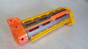 NERF-N-strike-Elite-YELLOW-RECON-BARREL-ATTACHMENT-clips-guns-silencer-darts