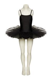 Black-Dance-Fairy-Fancy-Dress-Ballet-Tutu-Leotard-All-Sizes-By-Katz-Dancewear