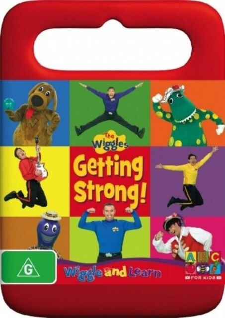 Wiggle and Learn - Getting Strong (DVD, 2007) USED