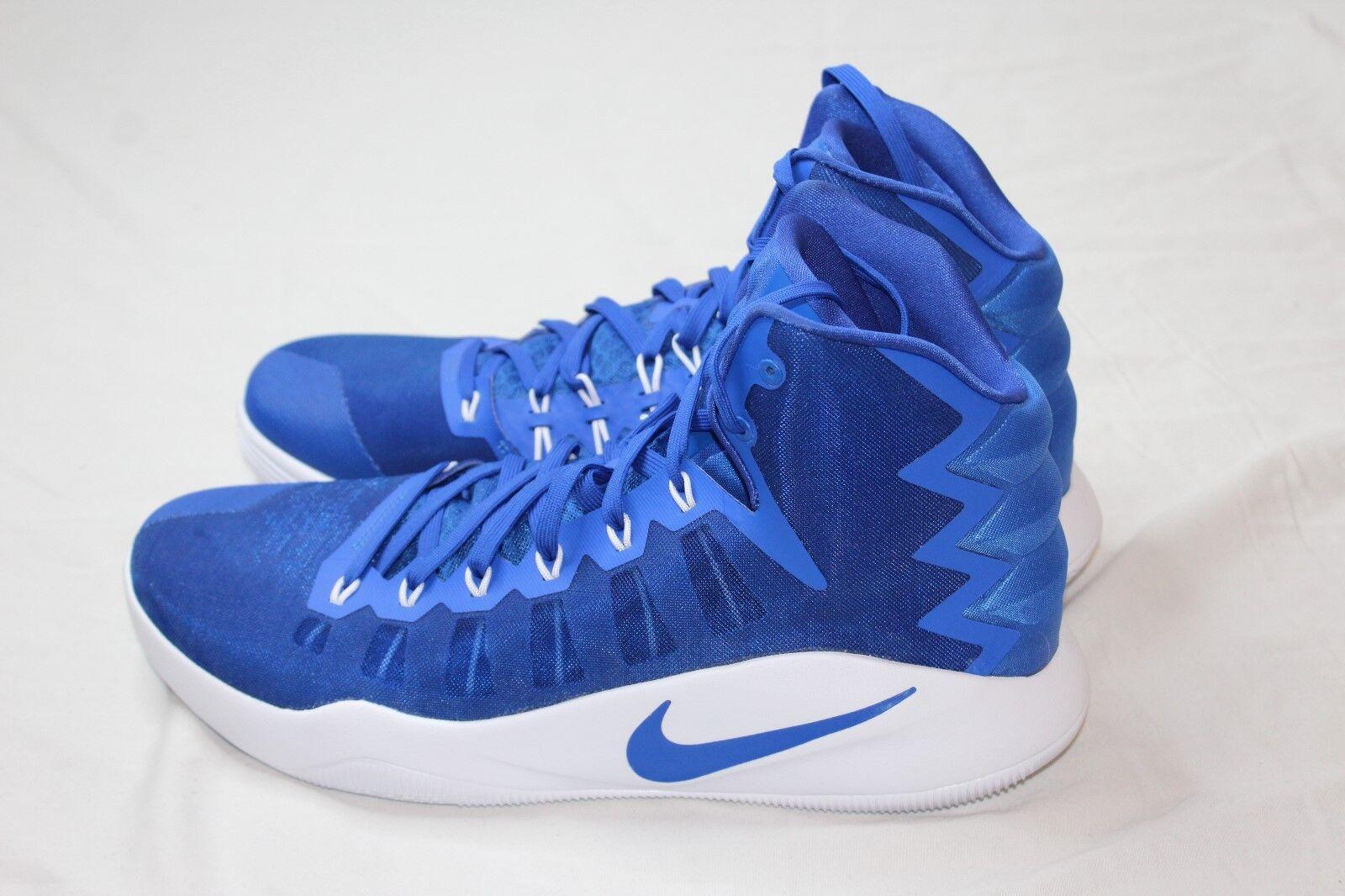 Nike Men's Hyperdunk High Top Basketball Shoes Royal Blue 856483-441 Size 15.5