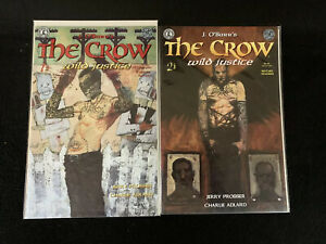 The-Crow-Wild-Justic-1-amp-2-Kitchen-Sink-Comics-1996