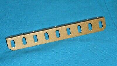 treaty anti scratch Meccano 1 angle 7,5cm no9c gold 6 holes