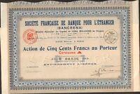 Bancrena, Banque Pour L'etranger (h)