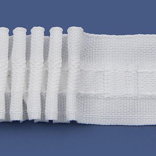 Rufflette In Home Poppy narrow pencil pleat curtain header tape