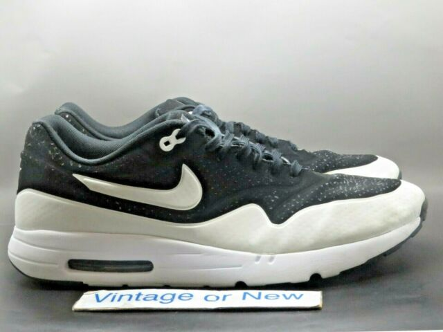 Size 14 - Nike Air Max 1 Ultra Moire Black - 705297-001