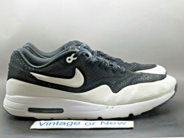 Nike Air Max 1 Ultra Moire Essential 2.0 Phantom White 3M Mens Shoes Size 10 EUC