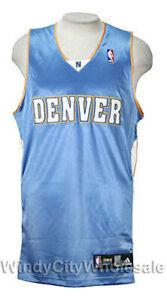 786e74d8 Adidas NBA Men's Denver Nuggets Blank Basketball Jersey, Sky Blue | eBay