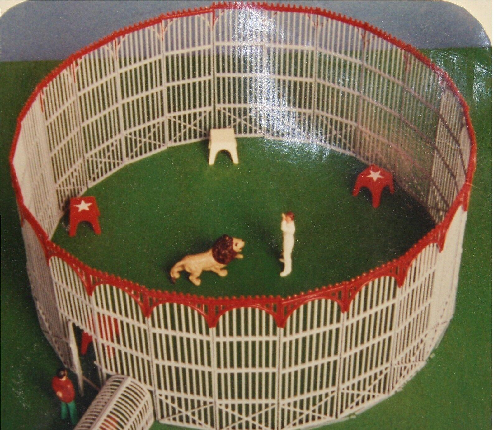001 - MINICIRQUE - Cage des fauves pour cirque échelle 1 50