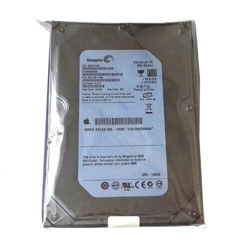 "1 of 1 - Seagate 3.5"" SATA 500GB Internal 7200RPM Hard Drive -ST3500630NS For Apple PC"
