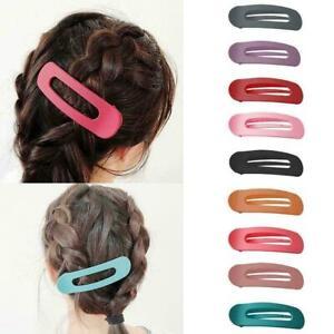 3pcs-Peeling-Matte-Hair-Clip-Grosse-Haarnadel-Frauen-Maedchen-Haarspange-Hair-M4Z8