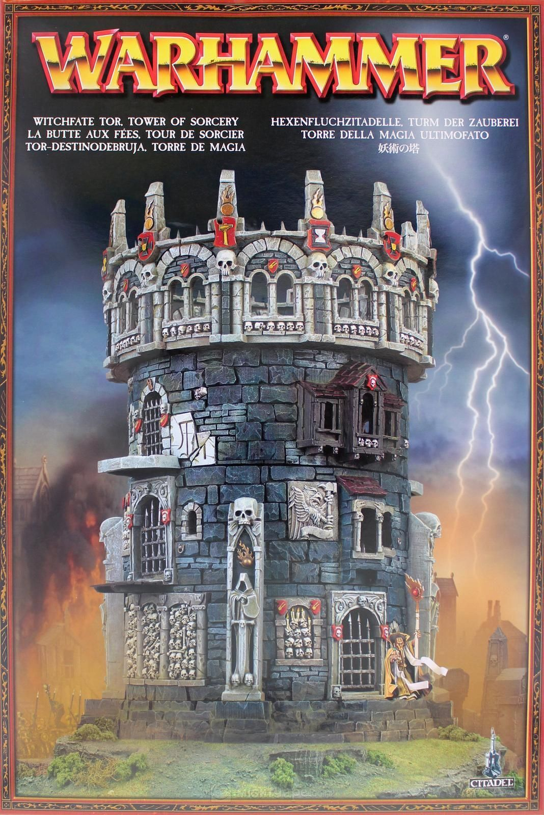 WARHAMMER WITCHFATE TOR, TOWER OF SORCERY FACTORY SEALED GAMES WORKSHOP WORKSHOP WORKSHOP OOP 250481