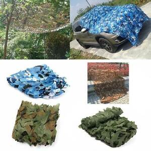 2x3M Hunting Military Leaves Camouflage Net Woodland Camo Netting Cover Backing