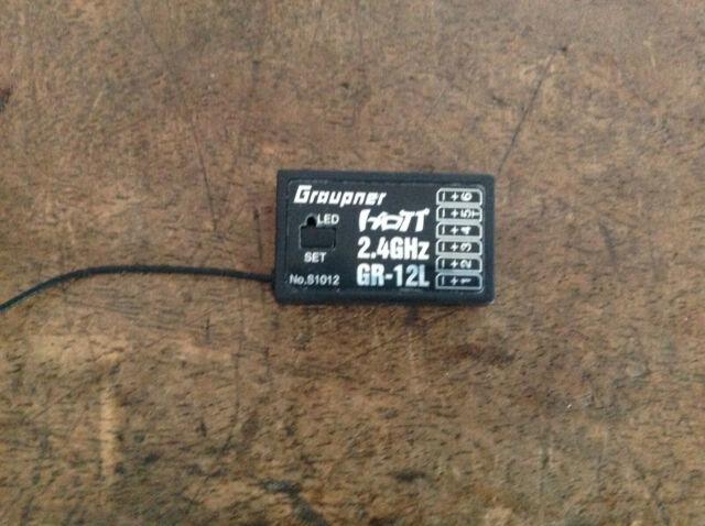 . Graupner GR-12L Hott Emfpänger Graupner S1012