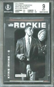 2012-panini-nc-made-ready-black-35-KYRIE-IRVING-rookie-only-5-exist-BGS-9