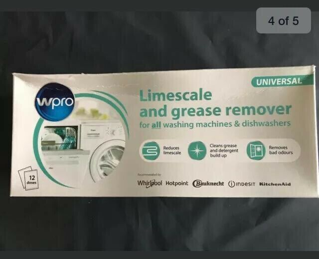 6 WPRO UNIVERSAL for all WASHING MACHINE /& Dishwasher LIMESCALE /& GREASE remover