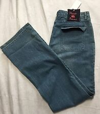 Mecca Femme 13/14 Medium Wash Womens Blue Jeans Bootcut NWT