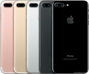 Apple iPhone 7 | 32,128 &256 GB | Jet Black/Gold/Silver/Red | (A1778) UNLOCKED